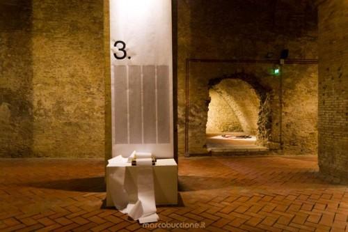 2012 – 3,1415926535 – Carlo Nannicola – Michela Del Conte – foto di Marco Buccione