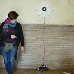 """Michela Del Conte - impatiens - installazione presente durante la manifestazione """"insieme - percorsi di ricerca tra arte e territorio"""" a cura di Zerynthia e con il coordinamento di Francesca Pellicci - Paliano (FR) - 2016"""