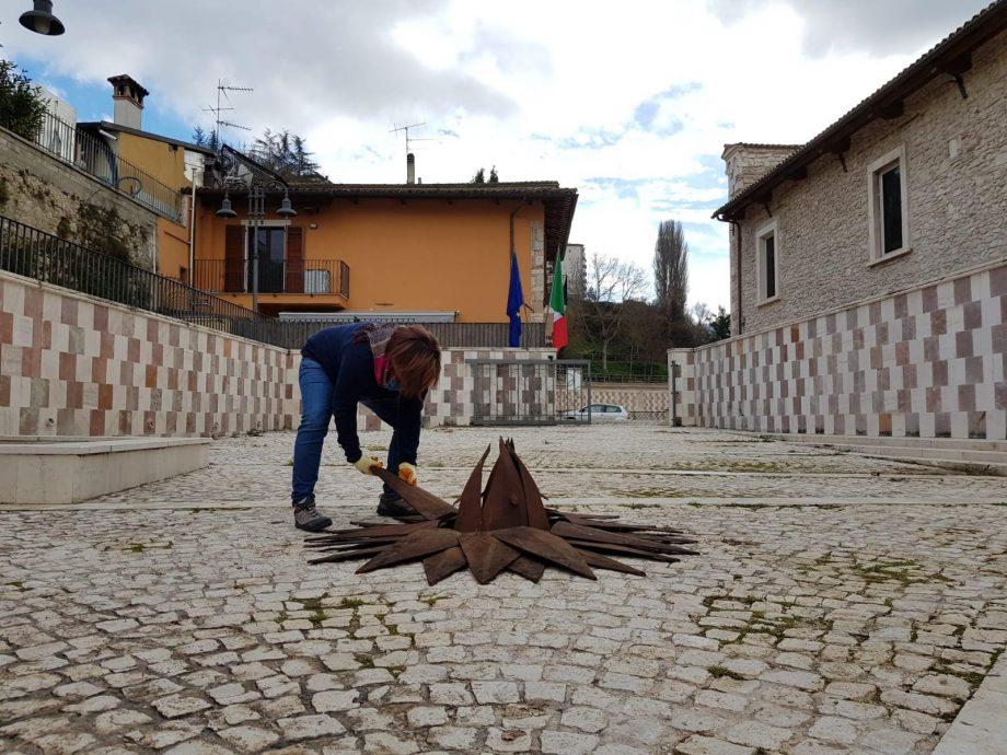 Michela Del Conte - Cynara - 2017-18 - Installazione durante il MuNDABAQ L'Aquila
